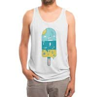 Melted Landscape - mens-triblend-tank - small view