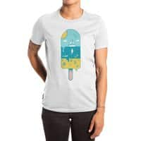 Melted Landscape - womens-extra-soft-tee - small view