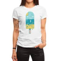 Melted Landscape - womens-regular-tee - small view