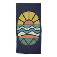 Let's Go Surfing - beach-towel - small view