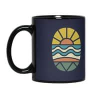 Let's Go Surfing - black-mug - small view
