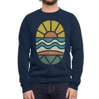 Let's Go Surfing - crew-sweatshirt - small view