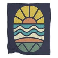Let's Go Surfing - blanket - small view