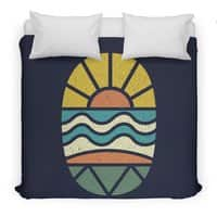 Let's Go Surfing - duvet-cover - small view