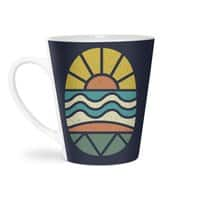 Let's Go Surfing - latte-mug - small view