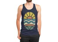 Let's Go Surfing - mens-jersey-tank - small view