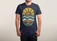 Let's Go Surfing - mens-triblend-tee - small view