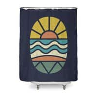 Let's Go Surfing - shower-curtain - small view