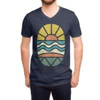 Let's Go Surfing - vneck - small view