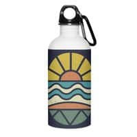Let's Go Surfing - water-bottle - small view