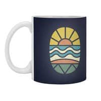 Let's Go Surfing - white-mug - small view
