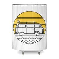 ROAD TRIP - shower-curtain - small view