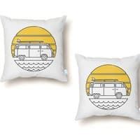 ROAD TRIP - throw-pillow - small view