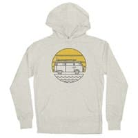 ROAD TRIP - unisex-lightweight-pullover-hoody - small view