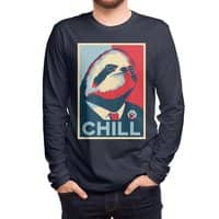 Sloth For President - mens-long-sleeve-tee - small view