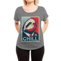 Sloth For President - womens-dolman - small view