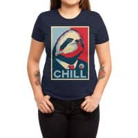 Sloth For President - womens-triblend-tee - small view