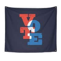 VOTE - indoor-wall-tapestry - small view