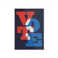 VOTE - vertical-mounted-aluminum-print - small view