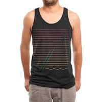 Do the Wave - mens-triblend-tank - small view
