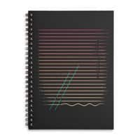 Do the Wave - spiral-notebook - small view