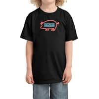 Coffee Shop Neon Sign - kids-tee - small view