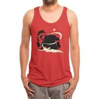 Outlaw - mens-triblend-tank - small view