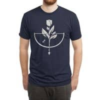 Rose Garden - mens-triblend-tee - small view