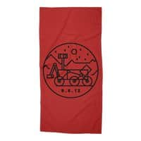 Stay Curious - beach-towel - small view