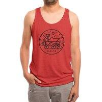 Stay Curious - mens-triblend-tank - small view