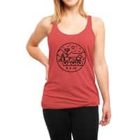 Stay Curious - womens-triblend-racerback-tank - small view