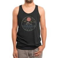 Summer Camp - mens-triblend-tank - small view