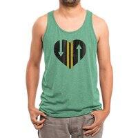 LOVE IS A TWO WAY STREET - mens-triblend-tank - small view