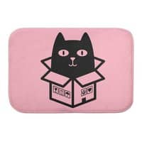 Cats Love Boxes - bath-mat - small view