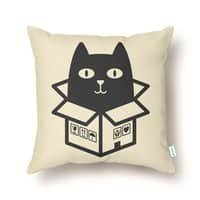 Cats Love Boxes - throw-pillow - small view