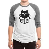 Cats Love Boxes - triblend-34-sleeve-raglan-tee - small view