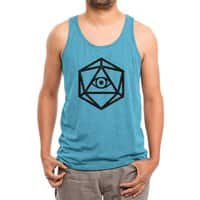 Die of Providence - mens-triblend-tank - small view