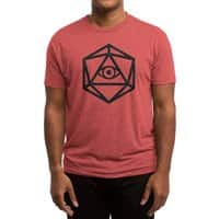 Die of Providence - mens-triblend-tee - small view