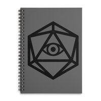 Die of Providence - spiral-notebook - small view