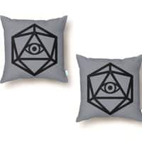 Die of Providence - throw-pillow - small view