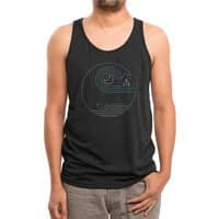 Moonlight Companions - mens-triblend-tank - small view