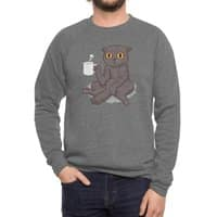 Catffeinated - crew-sweatshirt - small view