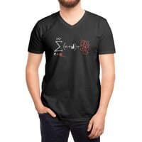 String Theory - vneck - small view