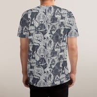 Vintage Dogs - mens-sublimated-tee - small view