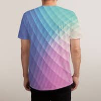 Spectrum Bomb! - mens-sublimated-triblend-tee - small view