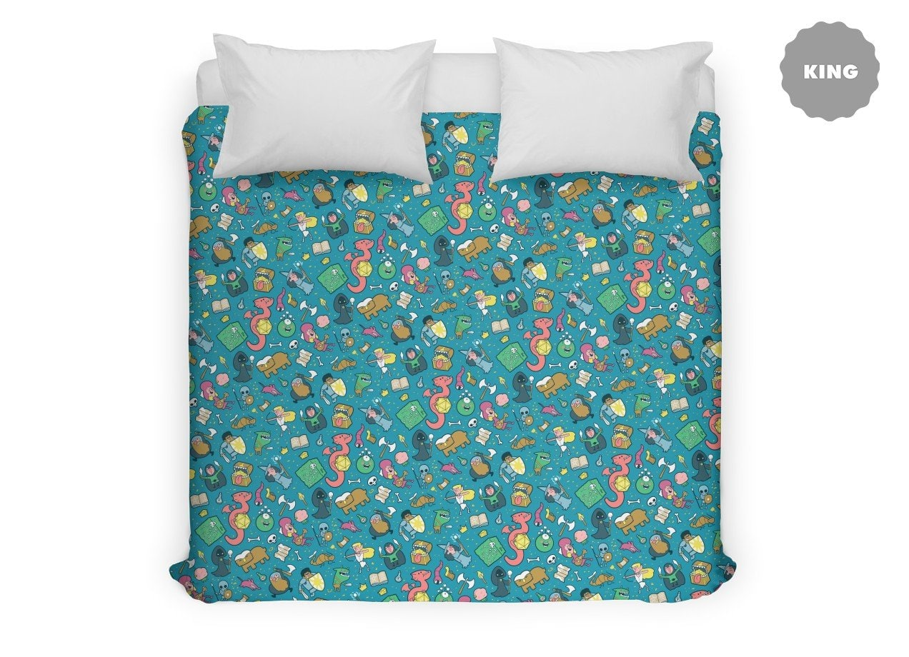 Dungeons Amp Patterns By Queenmob Duvet Cover Threadless