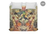 Meowosaurus - duvet-cover - small view