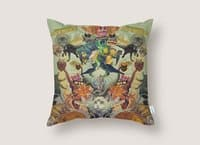 Meowosaurus - throw-pillow - small view
