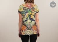Meowosaurus - womens-sublimated-v-neck - small view