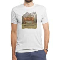 Half Horse Half Yogurt - mens-triblend-tee - small view